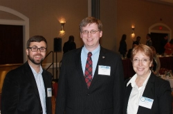 Will Hatcher, Matthew Howell, and LeAnn Beaty at SECOPA