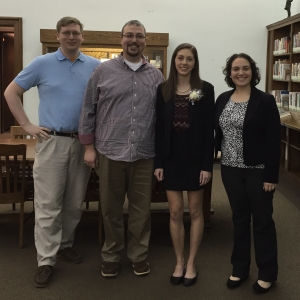 EKU Scholarship Week 2016 Kalkan Cizmar Howell Swiney Assembly
