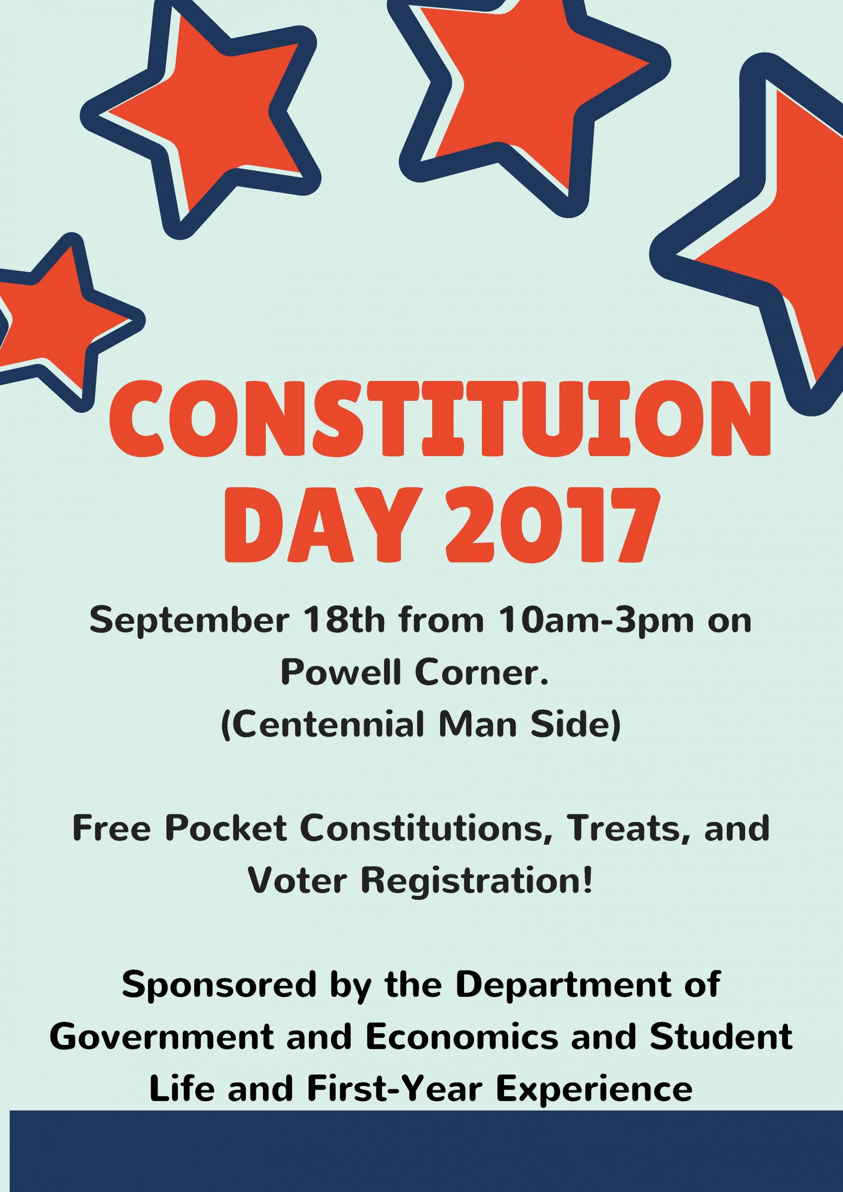 the eku department of government celebrates constitution day